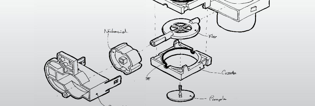 LEVENTI luchtklep ontwerpschets