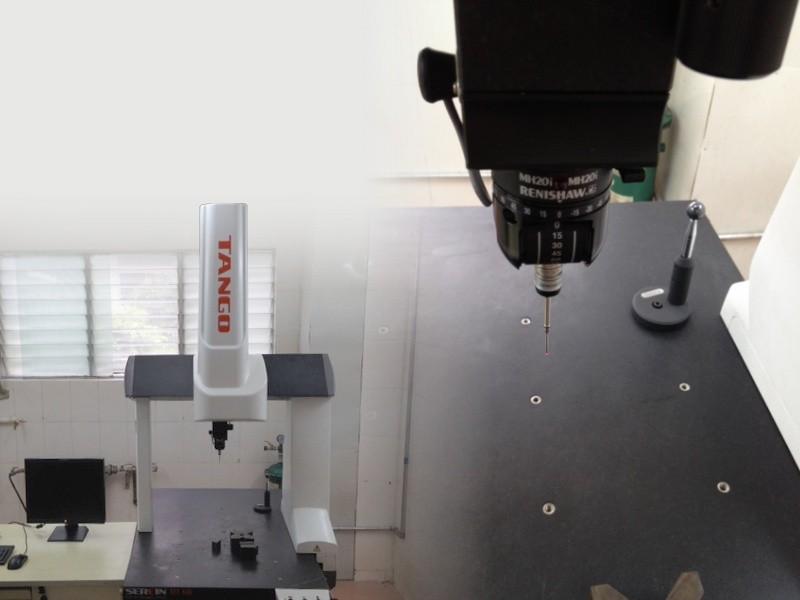 Modern meetapparatuur in onze fabriek in China