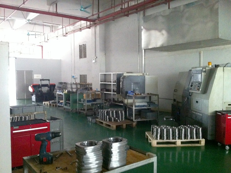 De CNC freesmachines in onze fabriek in China