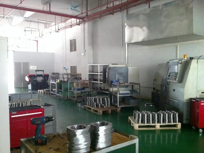 De CNC freesmachines in onze fabriek in China