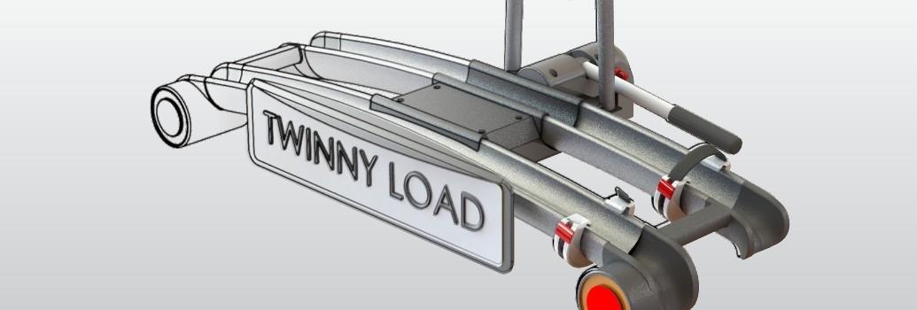 3D model van de Twinnyload fietsendrager