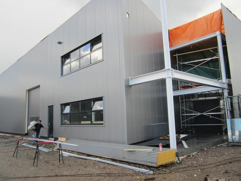 De nieuwbouw van Rokatec