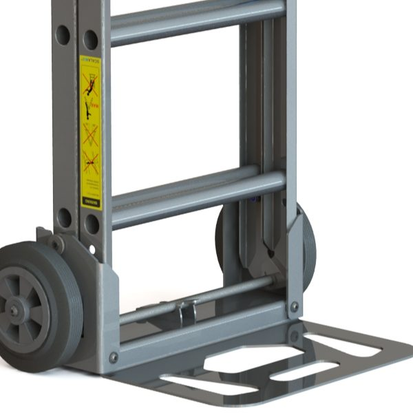 SCALAMIX Trolley and Ladder in one