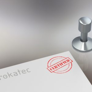 Rokatec werkt conform ISO 9001
