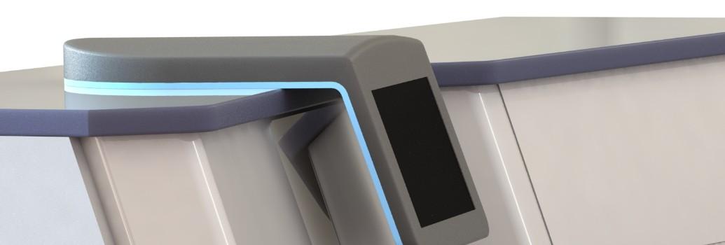 LED design verlichting van de Entermed Futurent 3