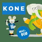 Max en Bob veiligheidsprogramma van KONE Deursystemen