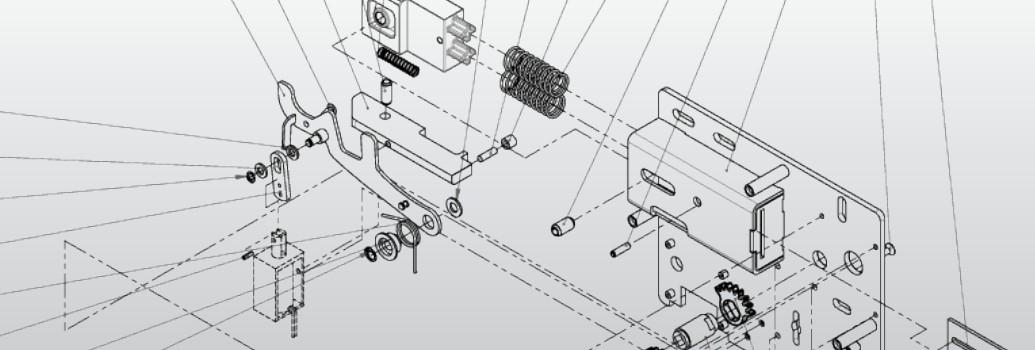 Het mechanisme van het deurslot van M-Locks