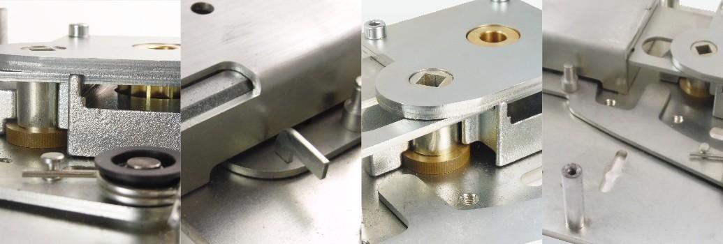 Het robuuste mechanisme van het deurslot van M-Locks