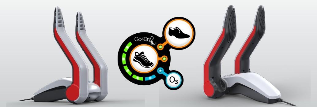 Go4Dry schoenerdroger met LED display