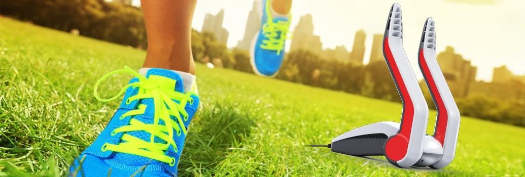 De Go4Dry schoenerdroger voor alle soorten hardloopschoenen