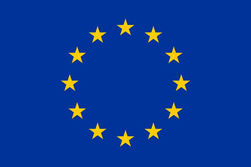 Europese vlag van Europees Sociaal Fonds